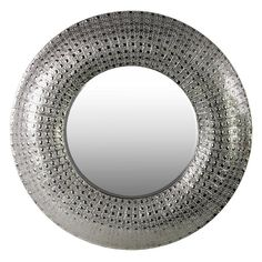 Urban Trends Round Metal Wall Mirror - 26611