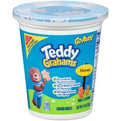Nabisco Triscuit Go Pak Honey Teddy Grahams Crackers, 2.75 Ounce -- 12 per case. Ritz Bits, Oreo Bites, Teddy Grahams, Mini Chips, Mini Oreo, Nutter Butter, Shaped Cookie, Ben And Jerrys Ice Cream, Graham Crackers