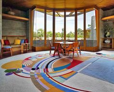 The 1952 Home In Phoenix Designed By Frank Lloyd Wright