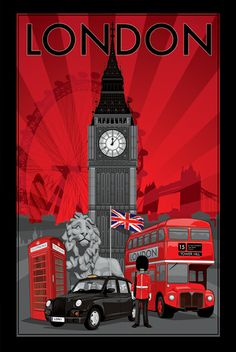Great poster of London