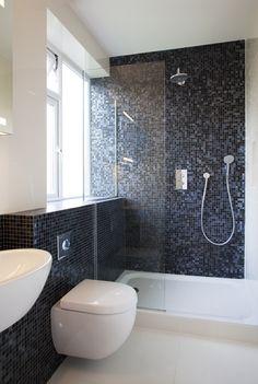 Open shower design minosa design large open bathroom for Bisazza bathroom ideas