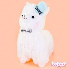 Alpacasso Plush with Hat - Big / White - Alpacasso - Plush Toys - Other Products | Blippo.com - Japan & Kawaii Shop