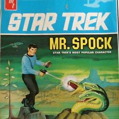 For over a decade, AMT (later AMT/ERTL) held the license to Star Trek, and produced a series of Star Trek models based on the original series. Plastic Model Kits, Plastic Models, Star Trek Poster, Star Trek Models, Vintage Toys, Vintage Models, Star Trek Characters, Ideal Toys, Original Movie