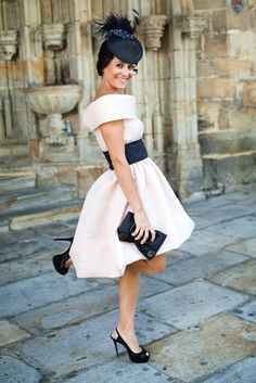 Nuestras Invitadas | Paredero Quirós Outfit Bautizo, Wedding Guest Style, Royal Ascot, Wedding Events, Weddings, Mother Of The Bride, Party Dress, Tulle, Ballet Skirt