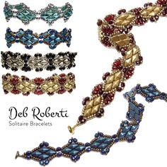 Pretty new bracelet pattern by Deb Roberti