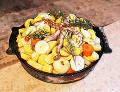 Peka is a traditional dish in Croatia. Made in a Bell Jar in an open oven, you can have it as seafood or with meat and vegetables.