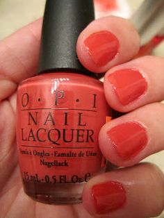 For the Love of Fashion: PAINT MY MOJI-TOES RED Collections/OPI