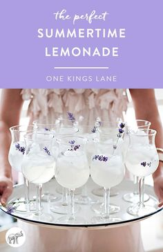 Lavender lemonade is light and refreshing as well as very beautiful and simple. Check out the blog for this amazing recipe!