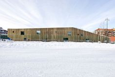 Image 8 of 25 from gallery of Fagerborg Kindergarden / Reiulf Ramstad Arkitekter. Photograph by Reiulf Ramstad Arkitekter School Architecture, Architecture Design, Scandinavian Architecture, Kindergarten Units, Project Site, Site Plans, Common Area, Outdoor Areas, Park City
