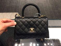 Chanel Mini Coco Handle Bag with Lizard Handle  Chanel  LimitedEdition 2a0e0e661b981