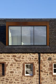 The Carpenter's House, East Lothian. House refurbishment and extension by Loader Monteith Architects and David Narro Associates Structural Engineers. Images by Dapple Photography Loft Dormer, Dormer Loft Conversion, Loft Conversion Bedroom, Dormer Roof, Dormer Windows, Loft Conversions, Glass Extension, Roof Extension, Zinc Roof