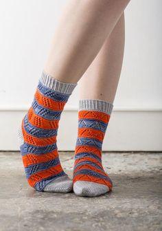10 stashbuster knitting patterns: mixalot socks by Rachey Coopey - on the LoveKnitting blog!