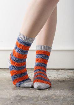 10 stashbuster knitting patterns: mixalot socks by Rachey Coopey - on the LoveKnitting blog!