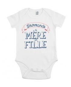 Adulte Blanc//Baby T-shirt Set maternité On a juste devenir meilleures amies OUAIS