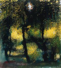 Kurt Jackson - Three Woods