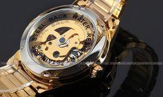 dbb9e69ef28 Relogio Masculino Dourado Automatico Mecanico Forsining - Dali Relógios