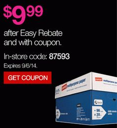 New Staples 10 Ream Case Of Multipurpose Paper For Only
