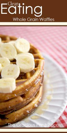 Saturday Morning Waffles