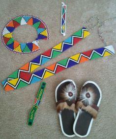Beads and mbatata Ethnic Patterns, Beading Patterns, Beaded Jewelry, Beaded Bracelet, Jewellery, Herringbone Necklace, Xhosa, Ethnic Design, Church Banners