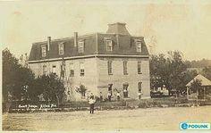 alton illinois map | Alton postcard post card - Court House, Alton, IL
