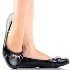 Black Square Toe Slip On Casual Comfort Women Ballet Flats Shoes