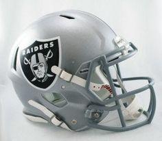 Oakland Raiders Revolution Speed Pro Line Helmet