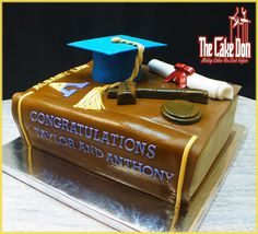 The ALBANY LAW GRADUATION Cake  by THE CAKE DON