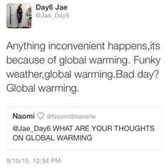 DAY6 Jae. OMG his tweets XD