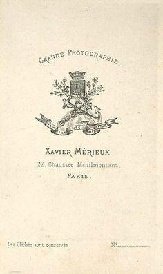 MÉRIEUX Xavier - Paris