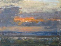 Noordzee I   schilderij van een zeegezicht in olieverf van Flip Gaasendam…