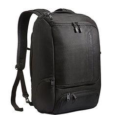 Amazon.com: eBags Professional Slim Laptop Backpack (Solid Black): Clothing