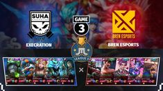 BREN vs EXECRATION | Playoffs Game 3 | JustML League 5 |  Mobile Legends... Winners And Losers, Hanabi, Alucard, Game 3, Mobile Legends, Bang Bang, Esports, Teamwork, Hero