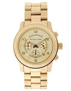 gold and polished- michael kors Michael Kors Jackets, Michael Kors Gold, Michael Kors Watch, Men's Fashion Black And White, Boyfriend Watch, Gold Watch, Mk Watch, Retro, Watches For Men