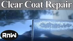 awesome How to Repair Damaged Clear Coat - Auto Body Repair Hacks Revealed Chevy Trailblazer, Dodge Dakota, Nissan Murano, Ford Explorer, Car Paint Repair, Car Repair, Auto Paint, Repair Shop, Car Paint Jobs