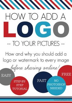 If you're new to blogging or the online business world, one question you might have is how to add a logo to photos. Today we'll show you!