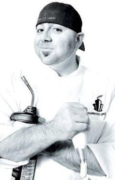 Duff Goldman!  I am in love with his laugh, thus, he belongs on my Pinterest!