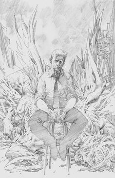 Hellblazer cover by Jim Lee