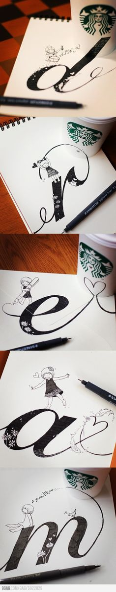 Sketching at Starbuck's (no author found)