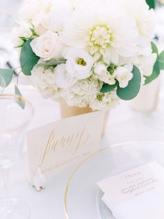 Simple table setting.
