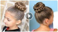 Örgülü Topuz Saç Nasıl Yapılır, braid,hairstyle,braids styles,hair braid styles,braid hairstyles,braiding hairs,braid tutorials,braid review,braid video