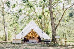 Sommarens hetaste trend: Glamping! Glamourös camping