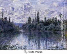 Monet. Arm of the Seine near Vetheuil. 1878