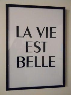 la vie est belle Quotes, Life Is Beautiful, Quotations, Qoutes, Quote, Shut Up Quotes