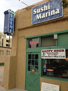 Eat here:  Sushi Marina - Ventura, California