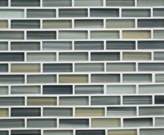 """""""Beach"""" Hand Crafted Glass Mosaic by Bodesi contemporary bathroom tile"""