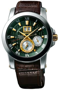 d1a51abc8b5 Seiko Premier Kinetic Perpetual Relógios De Luxo