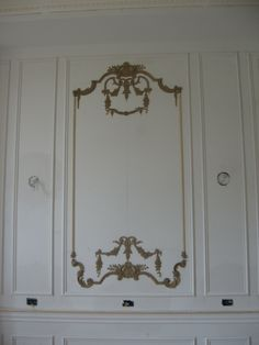 wall panel created with ornaments from decorators supply - Decorators Supply
