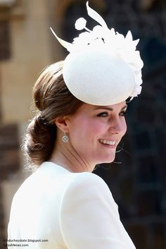 Jane Taylor Millinery, Mappin and Webb Empress drop earrings