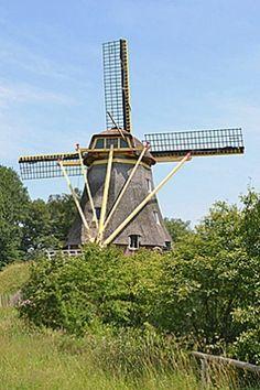 Flour mill De Besthmenermolen, Ommen, the Netherlands