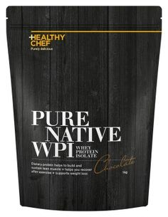 Pure Native Whey Protein Isolate - Chocolate 1kg:  Designed to be the purest…